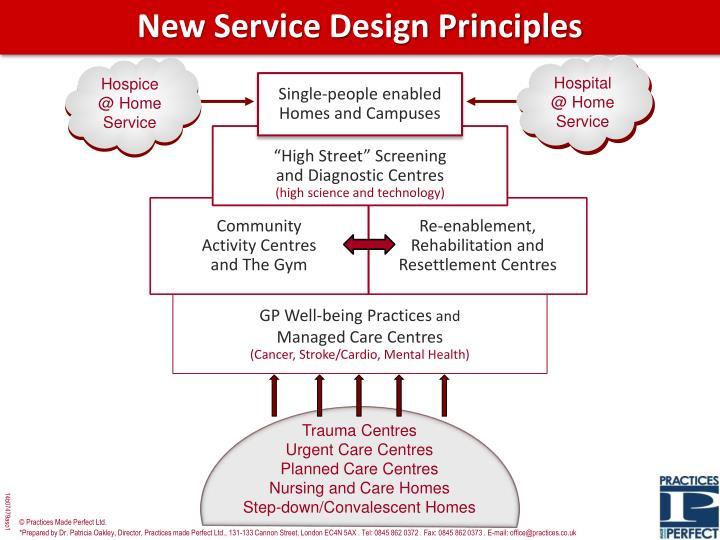 New Service Design Principles