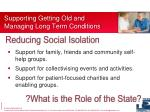 supporting getting old and managing long term conditions1