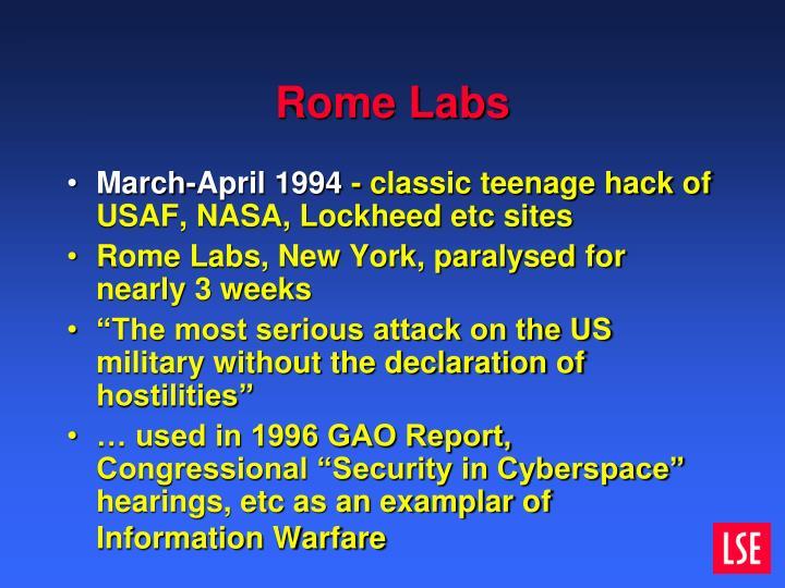 Rome Labs