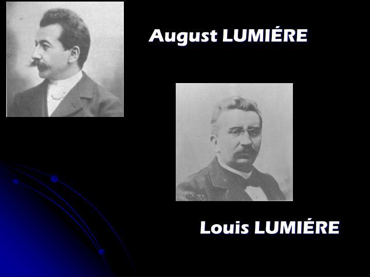 August LUMIÉRE