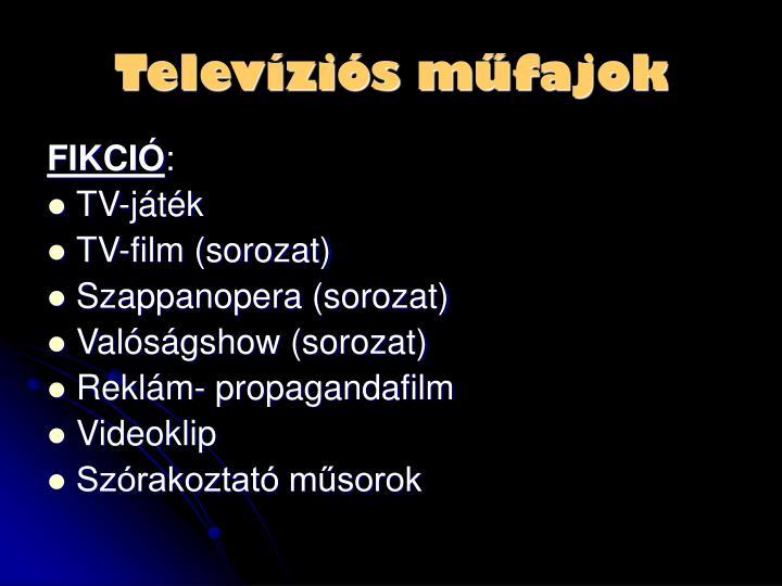 Televíziós