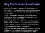 key facts about hawthorne1
