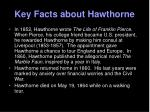key facts about hawthorne3