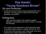 key issues young goodman brown3
