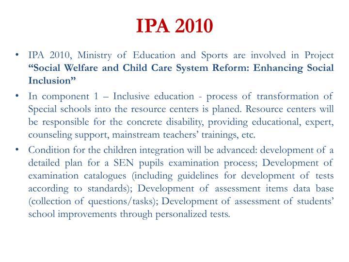 IPA 2010