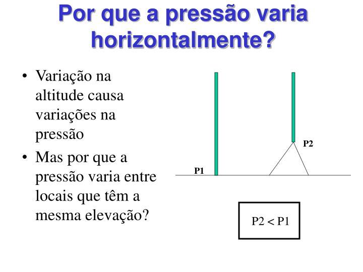 P2 < P1