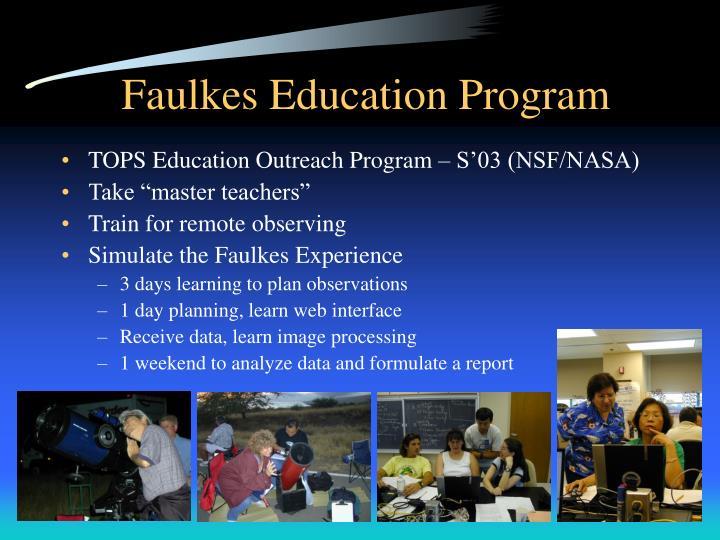 Faulkes Education Program