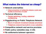 what makes the internet so cheap