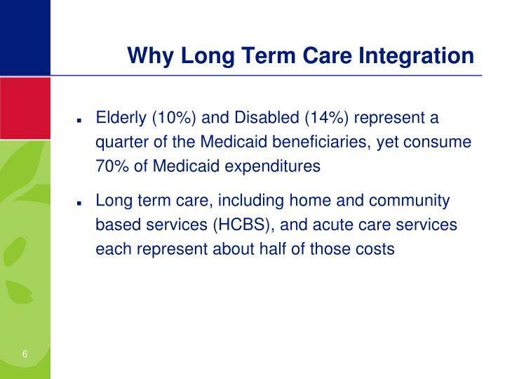 Why Long Term Care Integration