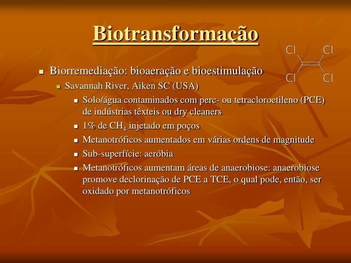 Biotransformação