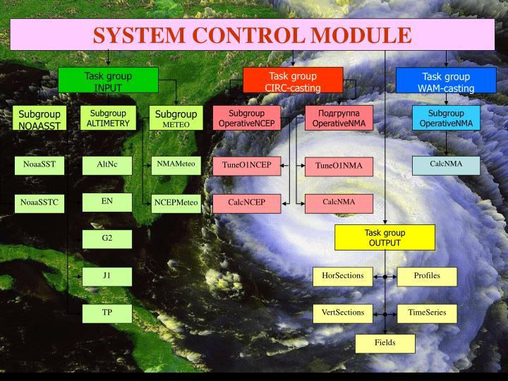 SYSTEM CONTROL MODULE