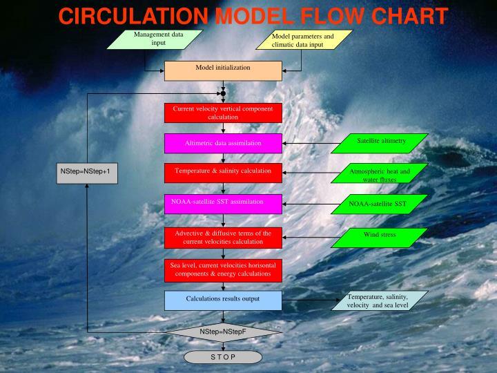 CIRCULATION MODEL FLOW CHART