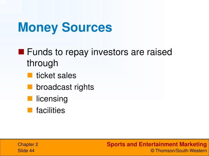 Money Sources