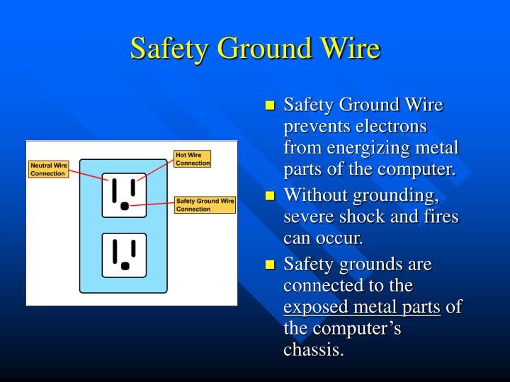 Safety Ground Wire