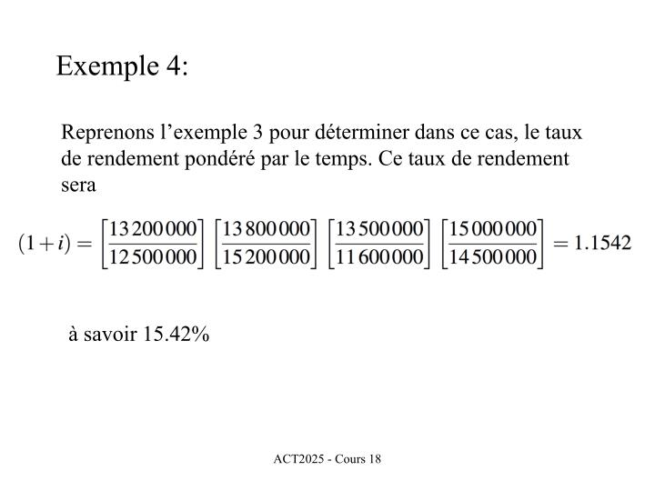 Exemple 4: