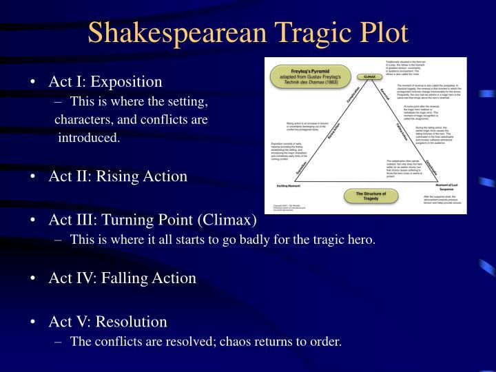 Shakespearean Tragic Plot