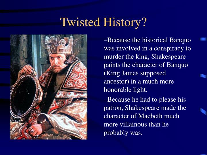 Twisted History?