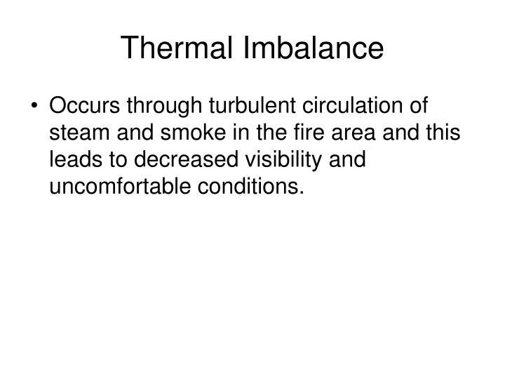 Thermal Imbalance
