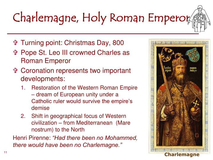 Charlemagne, Holy Roman Emperor