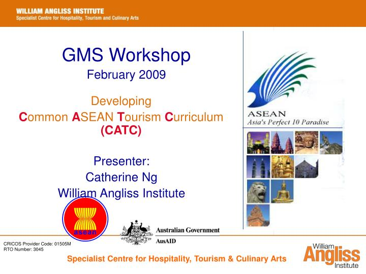 GMS Workshop
