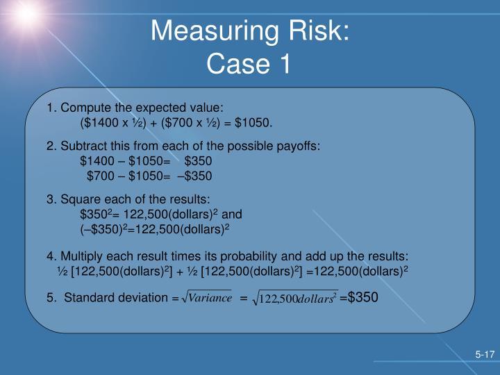 Measuring Risk: