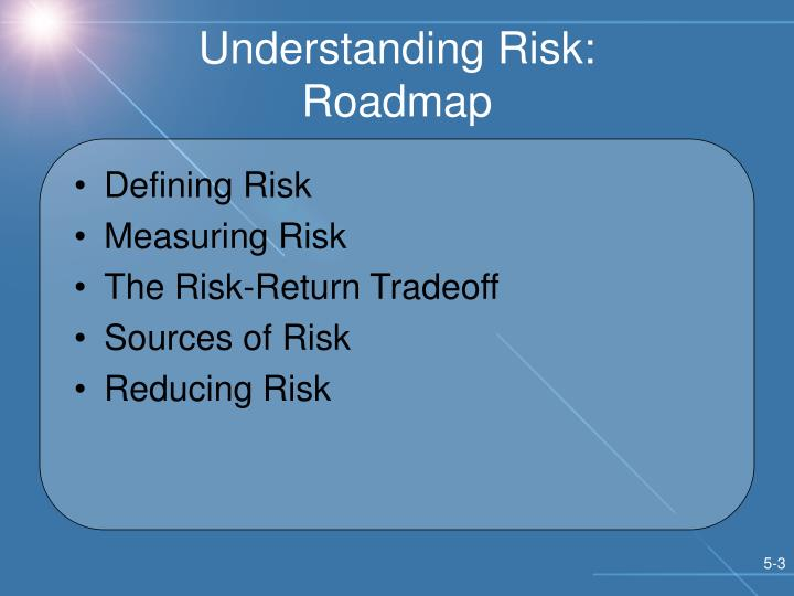 Understanding Risk: