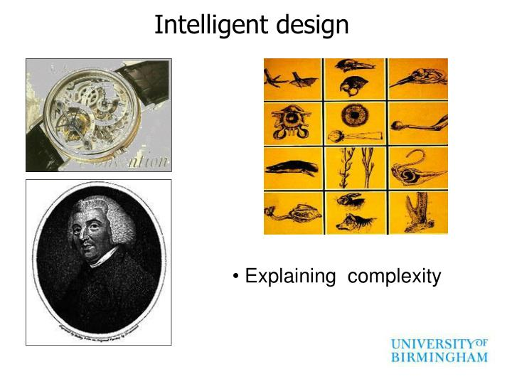 essay intelligent design evolution Research essay - free download as word doc (doc scott j critics should not fear questions about intelligent design or evolution intelligent design vs.