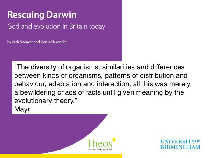 a study of the theory of evolution 01012009 why everyone should learn the theory of evolution  that evolution is both theory and  thinking skills as deductive reasoning and the study of.