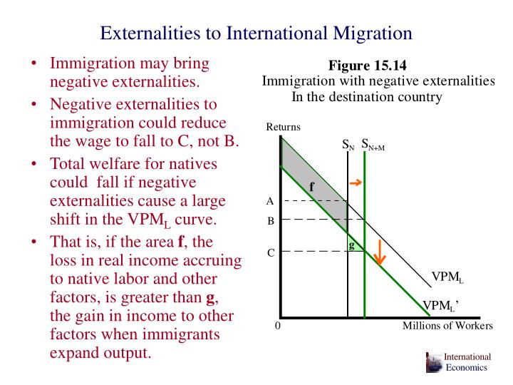 Externalities to International Migration