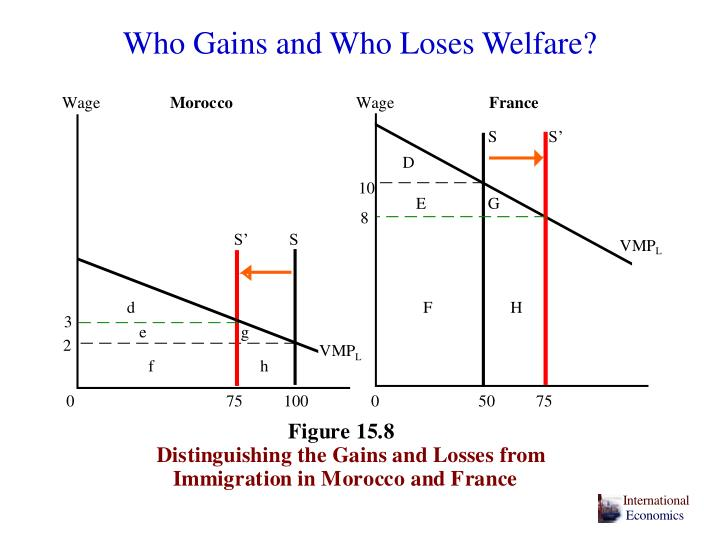 Who Gains and Who Loses Welfare?