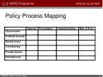 policy process mapping1