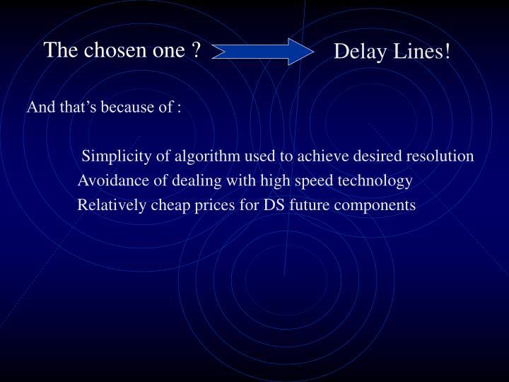Delay Lines!