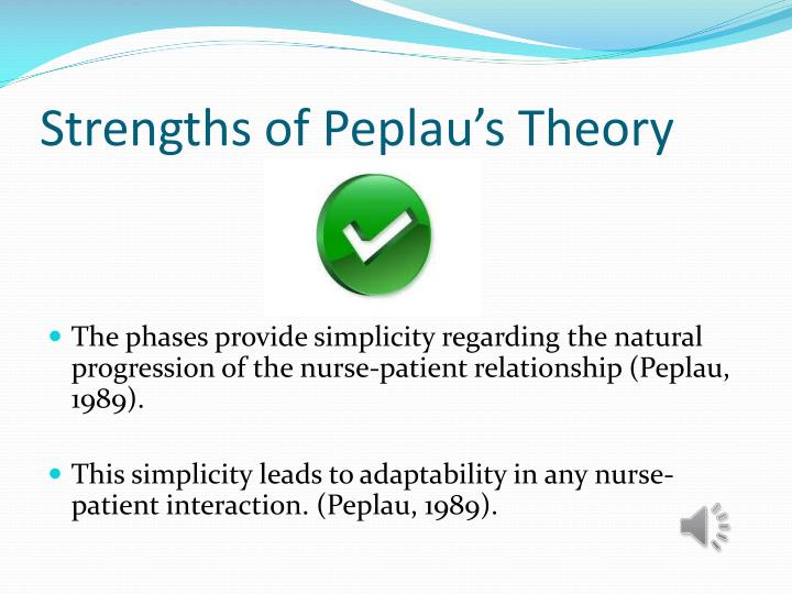 nurse patient relationship stages and theories
