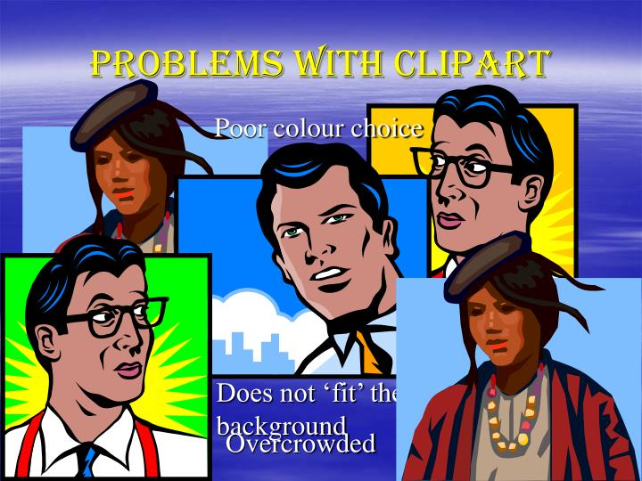 Problems with ClipArt