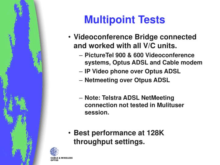 Multipoint Tests
