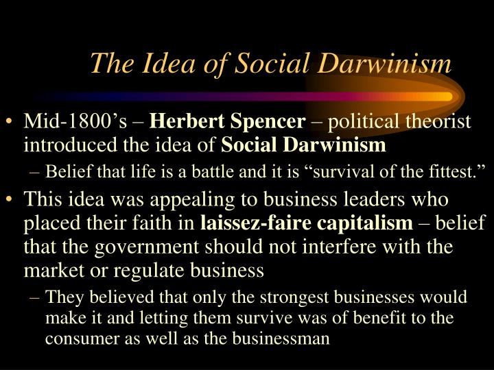 The Idea of Social Darwinism