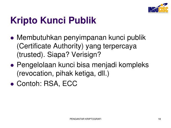 Kripto Kunci Publik