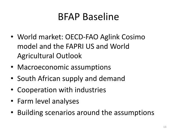 BFAP Baseline