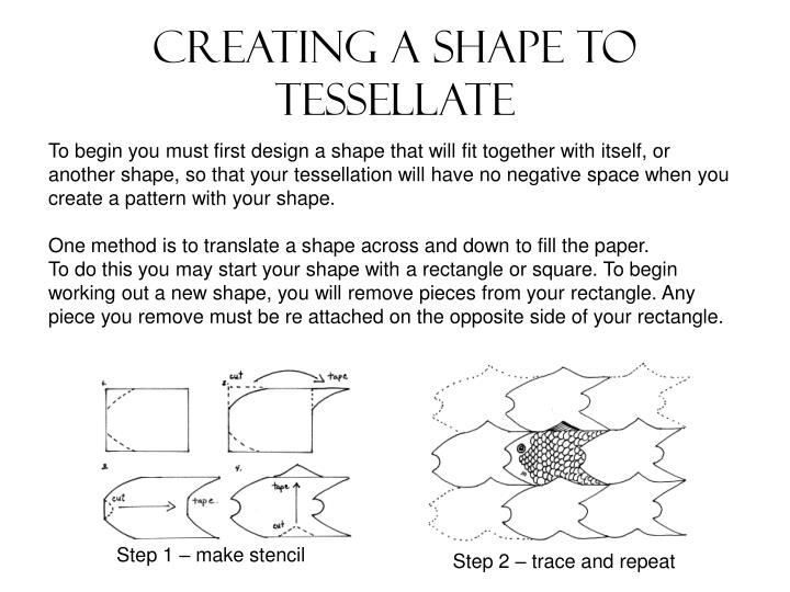 Creating a shape to tessellate