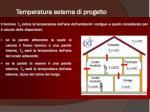 temperatura esterna di progetto