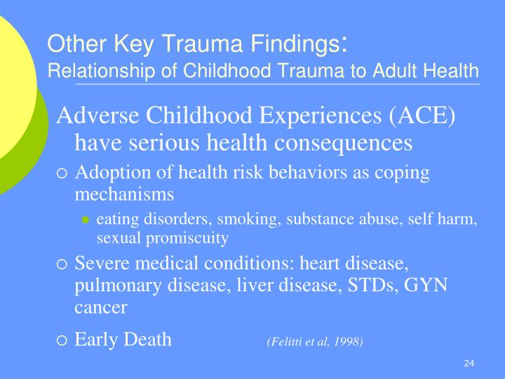 Other Key Trauma Findings