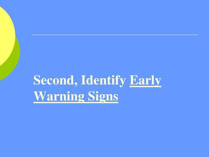 Second, Identify