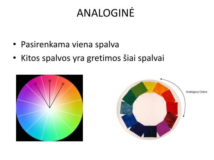 ANALOGINĖ