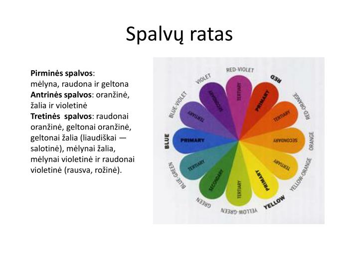 Spalvų ratas