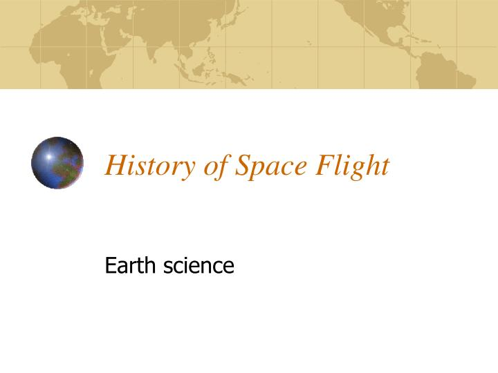 information about space flight history - photo #28
