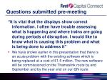 questions submitted pre meeting11