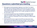 questions submitted pre meeting6