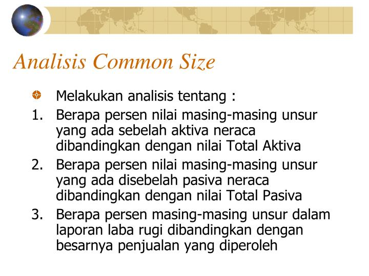Analisis Common Size