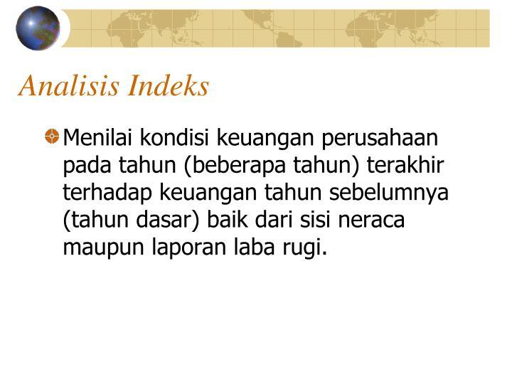 Analisis Indeks