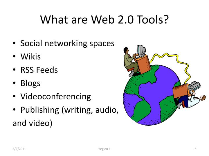 What are Web 2.0 Tools?